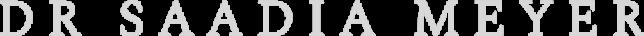 dr saadia meyer logo 2